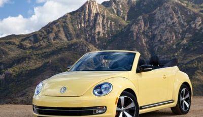Volkswagen Maggiolino Cabrio in promozione al prezzo di 22.800 euro