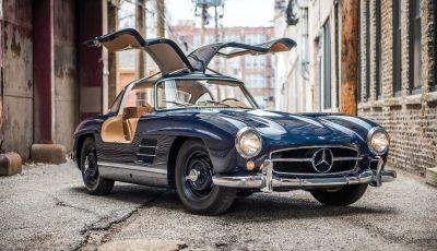 Mercedes 300 SL, così è nato il mito delle ali di gabbiano
