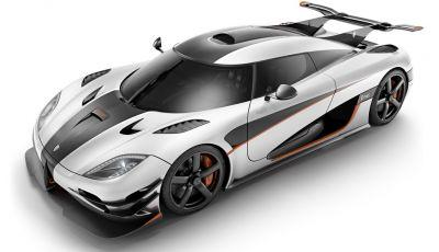 Le 15 auto più veloci al mondo: tutti in fila dietro alla Koenigsegg One:1