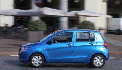 Suzuki Celerio e Swift, il cambio automatico arriva su tutta la gamma