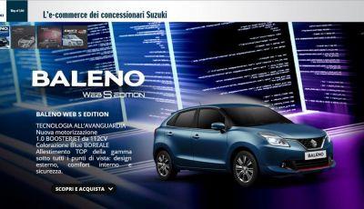 Acquistare online l'auto sul Web Store Suzuki