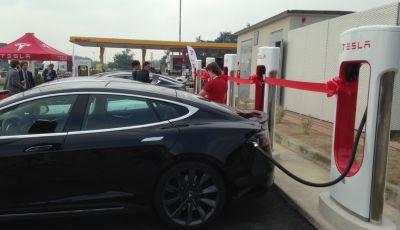 Tesla Supercharger: 9 nuove stazioni di ricarica entro fine 2017