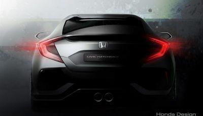 Nuova Honda Civic berlina al debutto mondiale