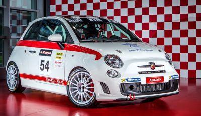 """Abarth 595 """"OT"""": per il Campionato Italiano Turismo e il Trofeo Abarth Selenia"""