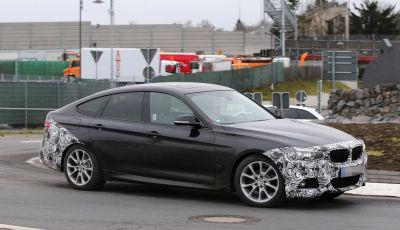 BMW Serie 3 GT, foto spia dei test al Nürburgring