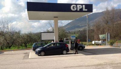 La Rete di Distributori GPL in Italia nel 2017