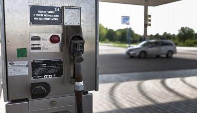 Rifornimento metano self service attivo da marzo