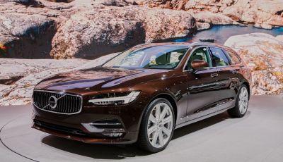 Nuova Volvo V90, motorizzazioni e dati ufficiali