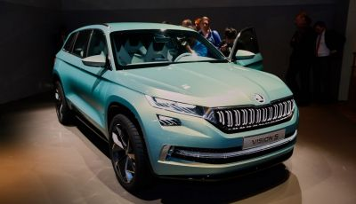 Skoda Vision S: ecco il concept del nuovo SUV