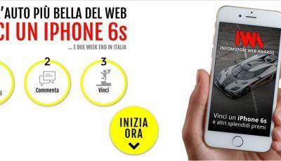 Vinci un iPhone 6S con Infomotori
