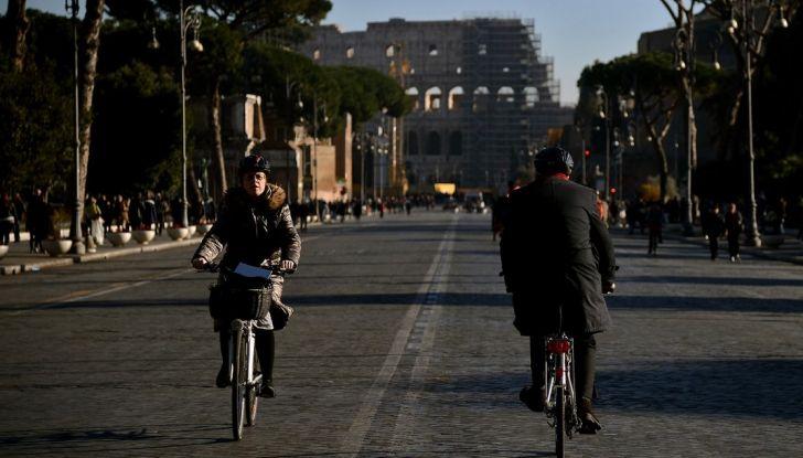 Traffico auto bici