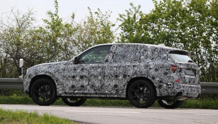 Nuova BMW X3: interni e dettagli nelle ultime foto spia - Foto 14 di 14