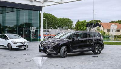 Renault 4Control, il Test Drive: Talisman ed Espace a quattro ruote sterzanti