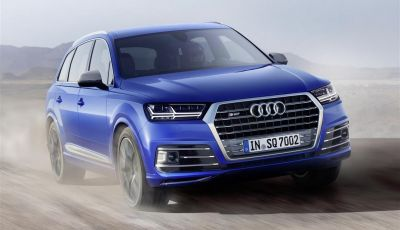 Audi SQ7 4.0 TDI: Il SUV Diesel con 900 Nm di coppia