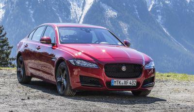 Nuova Jaguar XF 2017: Diesel da 2,0 litri Ingenium da 180 CV con AWD