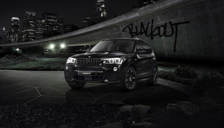 BMW X3 Blackout Edition - Foto 2 di 4