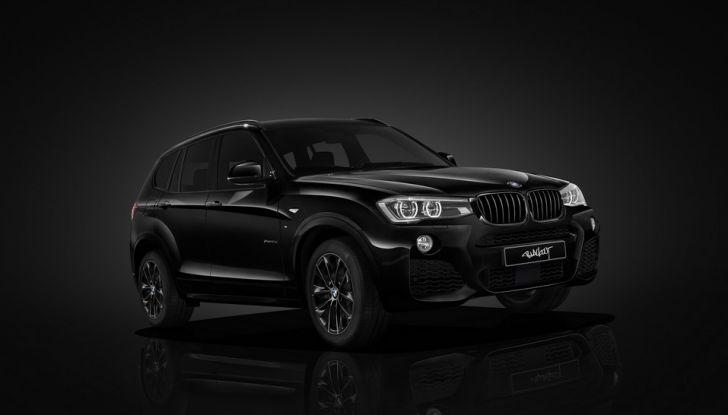 BMW X3 Blackout Edition - Foto 1 di 4