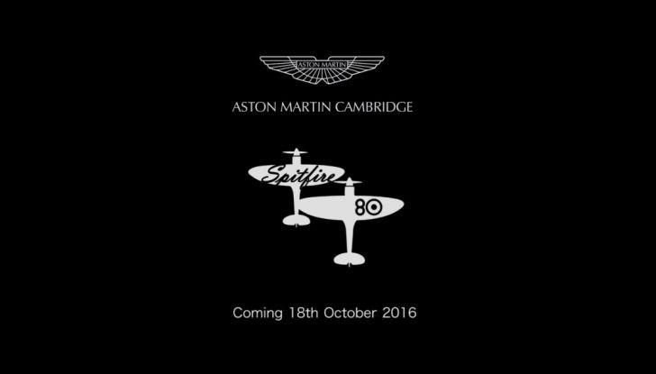 Aston Martin V12 Vantage S Spitfire 80 presentata in un video - Foto 2 di 17