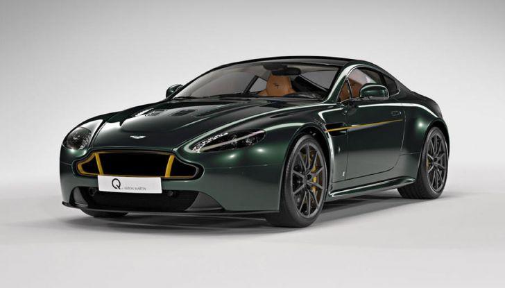 Aston Martin V12 Vantage S Spitfire 80 presentata in un video - Foto 1 di 17