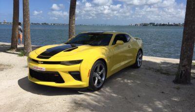 Prova su strada Chevrolet Camaro SS 2016: il V8 da 6,2 litri e 433CV