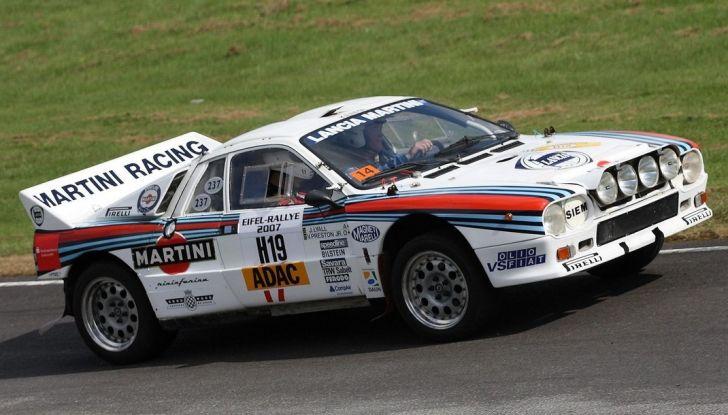 Le 10 auto da rally italiane più belle di sempre - Foto 9 di 11