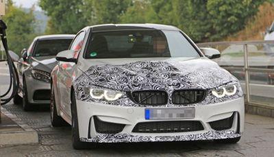 BMW M4 2017, le ultime foto della belva di Monaco