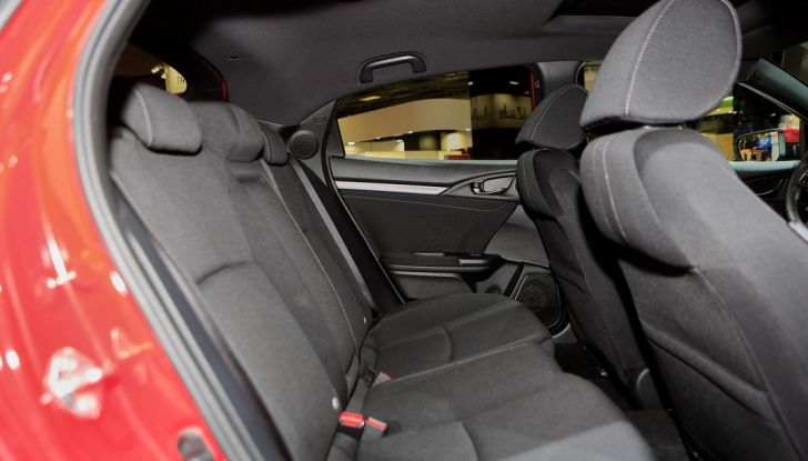 Nuova Honda Civic, interno.
