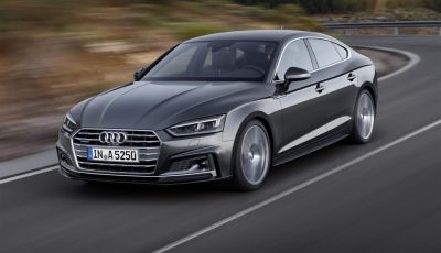 Nuova Audi A5 ed Audi S5 Sportback: dai 354CV di S5 al metano e GPL di g-tron