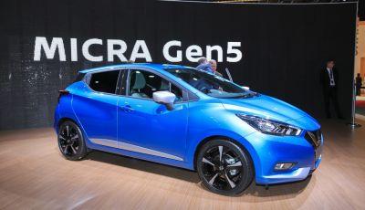 Nuova Nissan Micra 2017 svelata al Salone di Parigi 2016