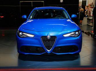 Alfa Romeo Giulia Veloce al Salone dell'Auto di Parigi 2016