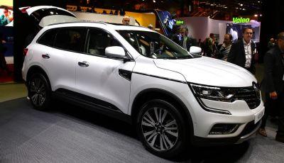 Renault Koleos svelata a Parigi la nuova crossover che potrebbe diventare ibrida