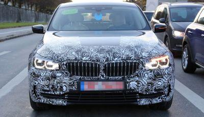 Nuova BMW Serie 6 GT 630D: le prime foto spia
