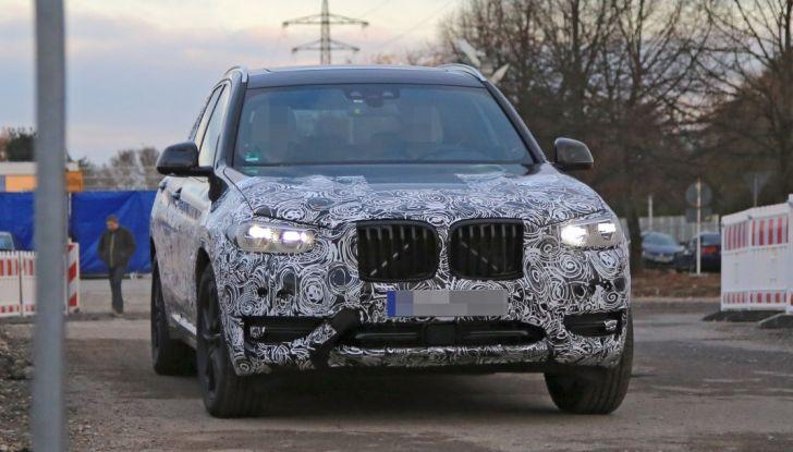 Nuova BMW X3 2017: le prime foto spia in Germania - Foto 2 di 26