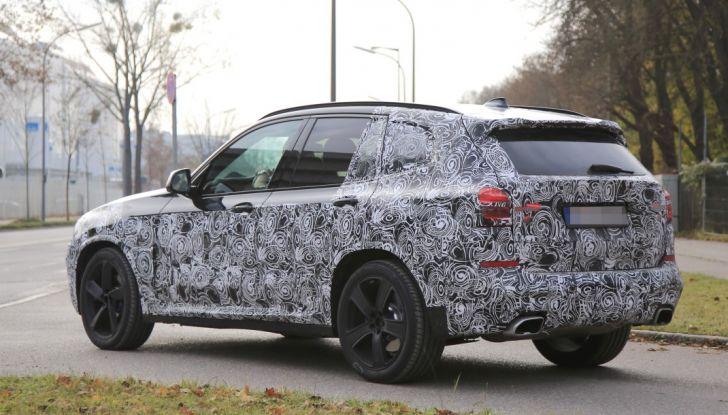 Nuova BMW X3 2017: le prime foto spia in Germania - Foto 15 di 26
