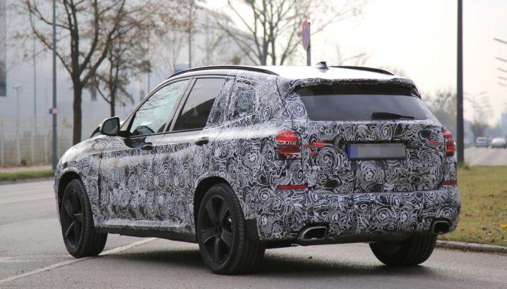 Nuova BMW X3 2017: le prime foto spia in Germania - Foto 16 di 26
