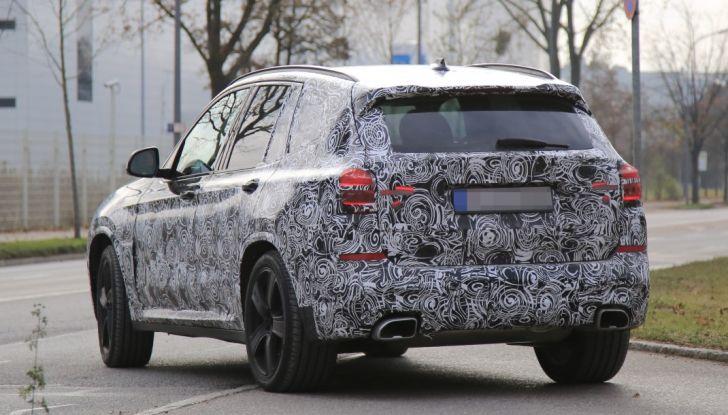 Nuova BMW X3 2017: le prime foto spia in Germania - Foto 17 di 26
