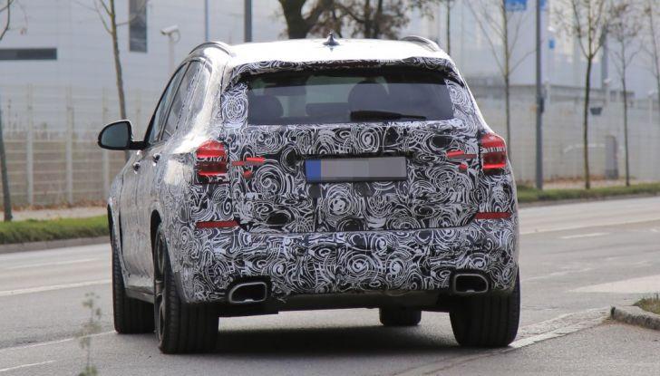 Nuova BMW X3 2017: le prime foto spia in Germania - Foto 18 di 26