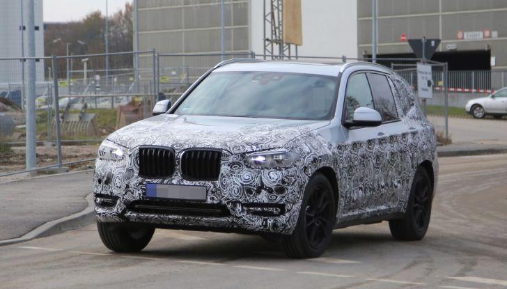 Nuova BMW X3 2017: le prime foto spia in Germania - Foto 20 di 26