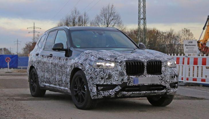 Nuova BMW X3 2017: le prime foto spia in Germania - Foto 1 di 26