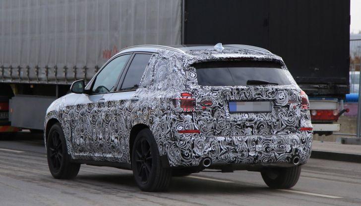 Nuova BMW X3 2017: le prime foto spia in Germania - Foto 26 di 26