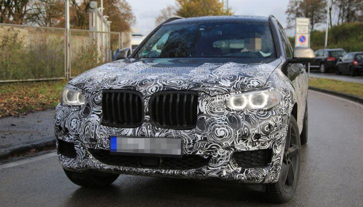 Nuova BMW X3 2017: le prime foto spia in Germania - Foto 5 di 26
