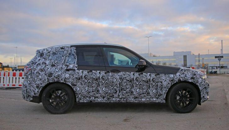 Nuova BMW X3 2017: le prime foto spia in Germania - Foto 3 di 26