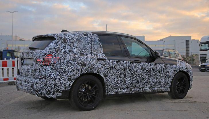 Nuova BMW X3 2017: le prime foto spia in Germania - Foto 7 di 26