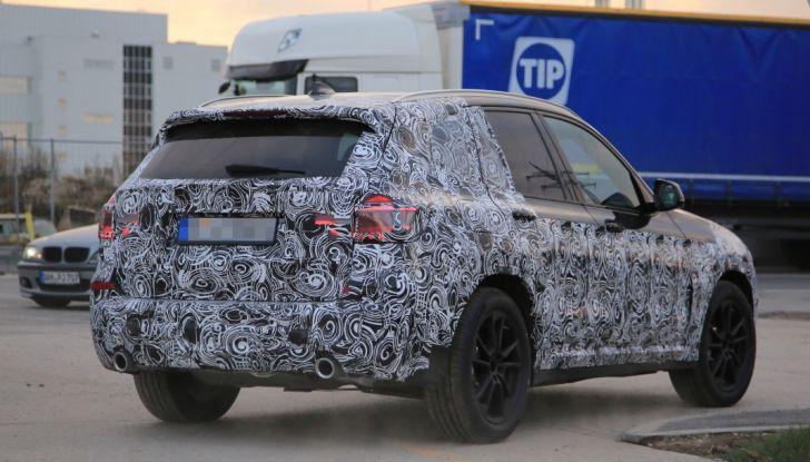 Nuova BMW X3 2017: le prime foto spia in Germania - Foto 4 di 26