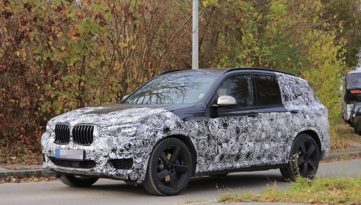 Nuova BMW X3 2017: le prime foto spia in Germania - Foto 10 di 26