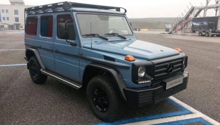Mercedes Classe G: Prova su strada e in fuoristrada - Foto 13 di 33