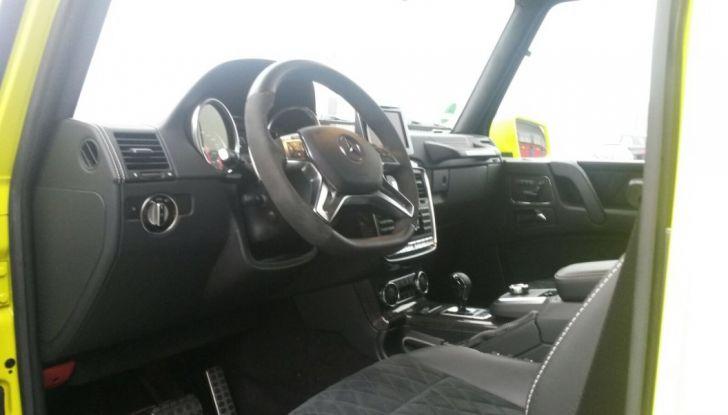 Mercedes Classe G: Prova su strada e in fuoristrada - Foto 26 di 33