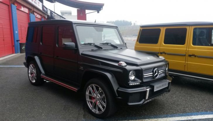 Mercedes Classe G: Prova su strada e in fuoristrada - Foto 11 di 33