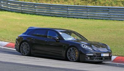 Porsche Panamera Shooting Brake, le foto spia della versione quasi definitiva