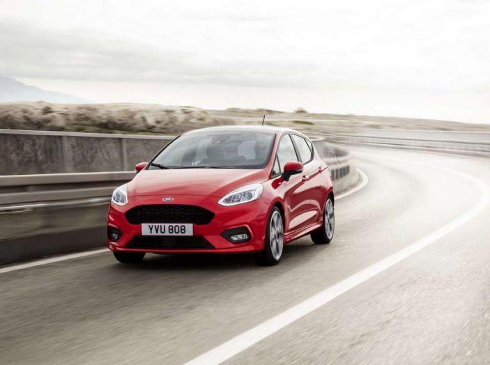 Ford Fiesta nuova generazione, motorizzazioni e allestimenti della compatta Ford
